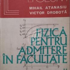 Fizica pentru admitere in facultate. Tehnica rezolvarii problemelor, vol. II