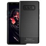 Husa Ipaky Fibre Carbon Negru Pentru Samsung Galaxy Note 8 N950