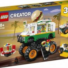 Cumpara ieftin LEGO Creator 3 in 1, Camion gigant cu burger 31104