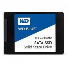 1 TB SSD NOU SATA 3, Western Digital Blue, WDS100T2B0A-WD