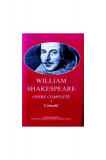 William Shakespeare. Opere complete (vol. I+II) Comedii, Poeme, Sonete