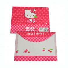 Mapa plastic cu buton Pigna Hello Kitty HKMPB140