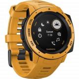 Ceas Smartwatch Garmin Instinct, GPS, Galben