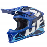 Casca motocross Ufo Intrepid , culoare albastru , marime L Cod Produs: MX_NEW HE136L