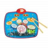 Cumpara ieftin Paturica muzicala bebe sau covoras muzical, tobe cu sunete, 55 X 43 cm, Topy Toy, 1 an+