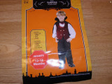 costum carnaval serbare vampir pentru copii de 1-2 ani 12-18 luni