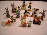 Looney tunes - 15 figurine - Bugs Bunny, Coyote, Duffy Duck, Speedy Gonzales
