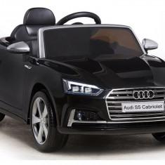 Masinuta electrica Audi S5 cabriolet, negru