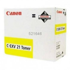 Toner original Canon C-EXV21Y Yellow