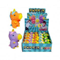 Unicorn de cauciuc cu minge