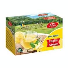 Ceai Verde Vanilie si Lamaie Fares 20dz Cod: 11406