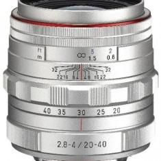 Obiectiv Foto Pentax HD DA 20-40mm F2.8-4 ED Limited DC WR (Argintiu)
