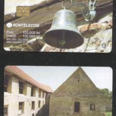 Romania 2004 Telephone card Churches CT.021