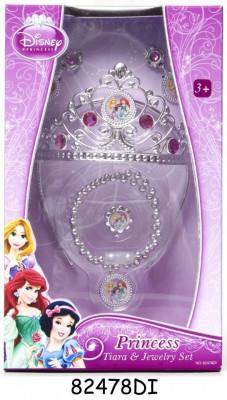 Set diadema şi bijuterii - Printesele Disney foto