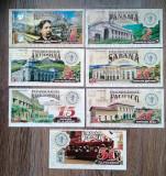 Lot 7 bancnote fantezie trenuri cafeteros