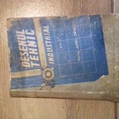 CARTE - DESEN TEHNIC INDUSTRIAL VOL. I AUREL ZANESCU, 1958