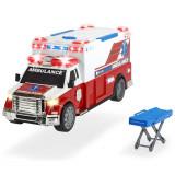 Cumpara ieftin Masina ambulanta Dickie Toys Ambulance DT-375 cu accesorii
