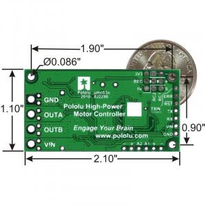 Controller de Motoare de Putere Pololu 24v23