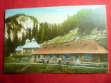 Ilustrata -Suvenir din Busteni - Noul Schit de la Valea Ialomitei 1915