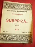 Ion Dongorozi- Surpriza...- Schite - Biblioteca Dimineata nr.21 Adevarul, 61 pag