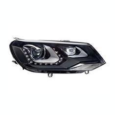 Far VW Touareg 04.2010- HELLA partea Dreapta daytime running light bixenon tip bec D3S , asistenta faza lunga, lumina viraje, lumini de zi LED