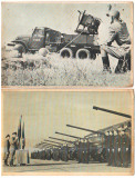 SV * ARTILERIA ANTIAERIANA + TRECERE IN REVISTA UNIT. TANCURI * LOT 2 x RPR 1963