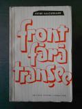 PETRE SALCUDEANU - FRONT FARA TRANSEE