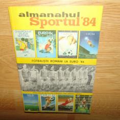 ALMANAHUL SPORTUL ANUL  1984