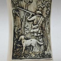Butelca ceramica veche vanatoreasca Italia - Brescia 0,7l