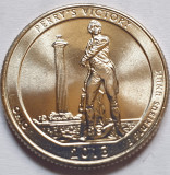 25 cents / quarter 2013 SUA, Ohio, Perry's Victory, litera D, America de Nord