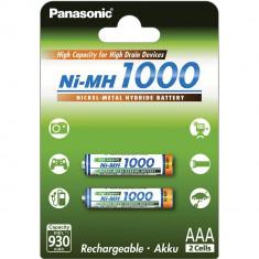 Acumulatori Panasonic AAA R3 1000mAh 2 Bucati / Set
