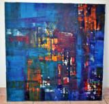 Pictura pe panza artist Victor Bratu - arta contemporana, Abstract, Ulei