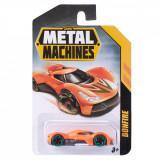 Masinuta Metal Machines Bonfire, 1:64, Portocaliu