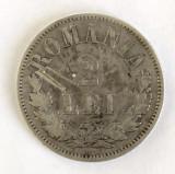 ROMANIA 2 LEI 1875 CU 5 DEPARTAT STARE  BUNA