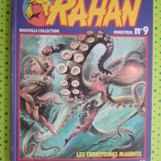 RAHAN nr.9 , colectia noua, limba franceza
