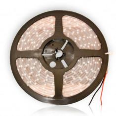 Banda impermeabila LED SMD 3528, 24 W, 5 m x 10 mm, 450 lm, lumina albastra