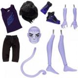 Papusa Monster High Set Add-on Puma boy Creaza un monstru, Mattel