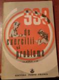 999 DE EXERCITII SI PROBLEME CLASELE I - IV PORTO FRANCO