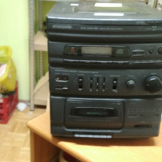 Combina muzicala Intersound MHC 5500 RM cu probleme 30Watt #GAB