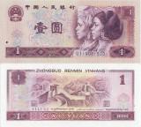 1980 , 1 yuan ( P-884b ) - China - stare UNC