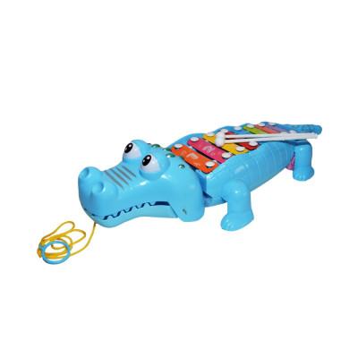 Xilofon de jucarie cu Crocodil 7 note foto