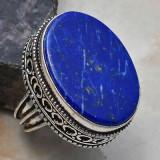 Inel argint cu LAPIS LAZULI.   Mărimea 7