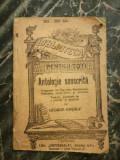 Antologie sanscrita - George Cosbuc Editura Alcalay & Co. BPT 285-285 bis Dolne