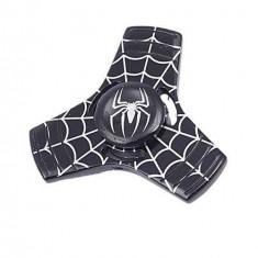 Fidget Spinner Metalic - Spider Man Negru