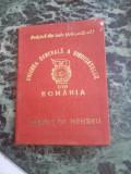 Carnet de membru Uniunea Generala a Sindicatelor din Romania