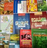 Atlasuri,cărți geografie,carte română comentarii, memorator geografic...etc, corint