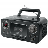 Sistem audio portabil Muse M-182 RDC, Stereo, LED, CD-Player, Negru