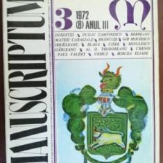 Manuscriptum 3/1972