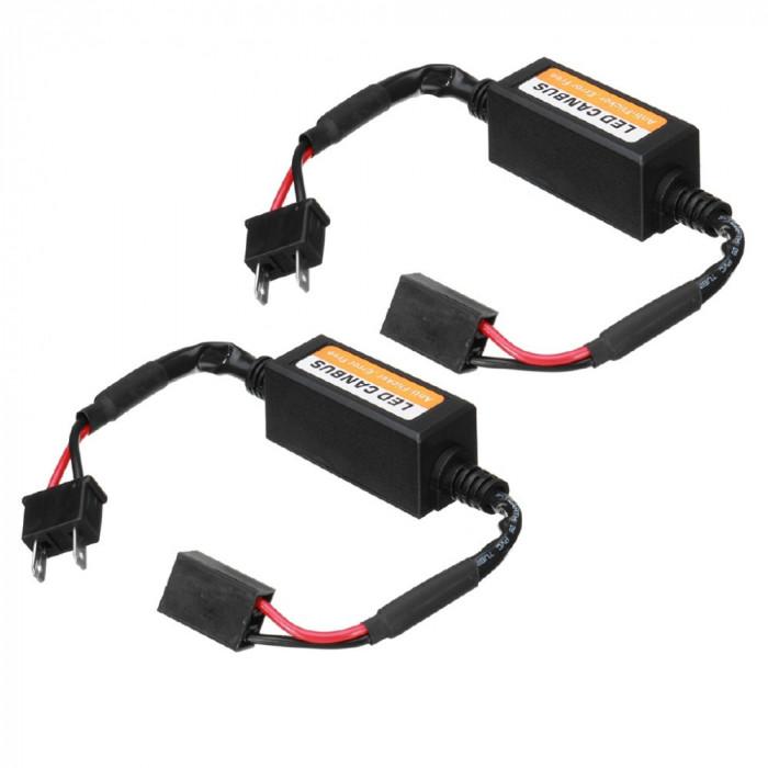 Set 2 anulatoare eroare becuri LED H7 PREMIUM