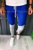 Pantaloni de trening pentru barbati - slim fit -trei culori- A5986